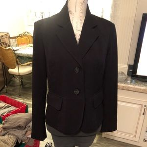 Rafaella black light weight 2 button blazer 8